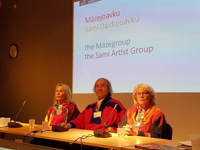 Den legendariske MAsi gruppa gav en nær og inspirerende presentasjon av sitt arbeid og engasjement for den samiske rettighetskampen